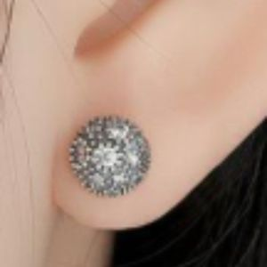 Pandora Jewelry - Pandora Sterling Silver Cosmic Stars Studs